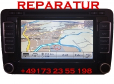 VW Bora RNS 510 Navigation Lesefehler Reparatur