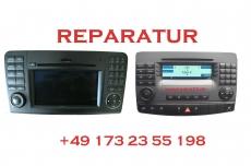 Mercedes APS Command 2.5 Navigation Lesefehler Reparatur Einzelner DVD-Laufwerk