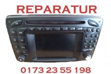 Mercedes Command W169 W164 W211 W245 W209 Navigation Laufwerk & Laser Reparatur