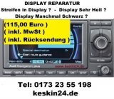 Audi Navigation Plus RNS-E Display Reparatur 99% Erfolg RNSE - NEP70