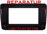 Skoda Forman RNS 510 Navigation LCD Touch Weiß Display Reparatur